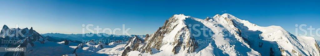 Glorious mountain vista XXXL royalty-free stock photo