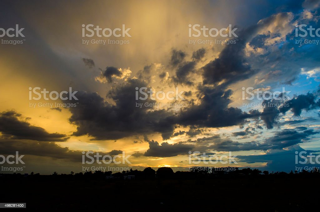 Glorious Sunrise stock photo