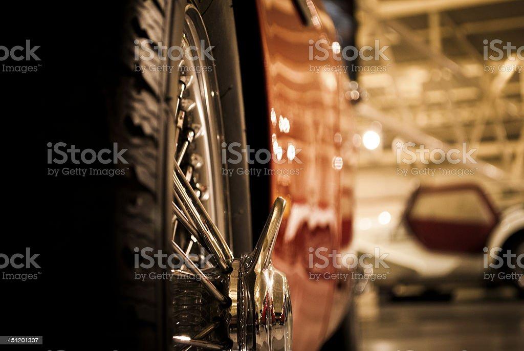 Glorious Wire Wheel royalty-free stock photo