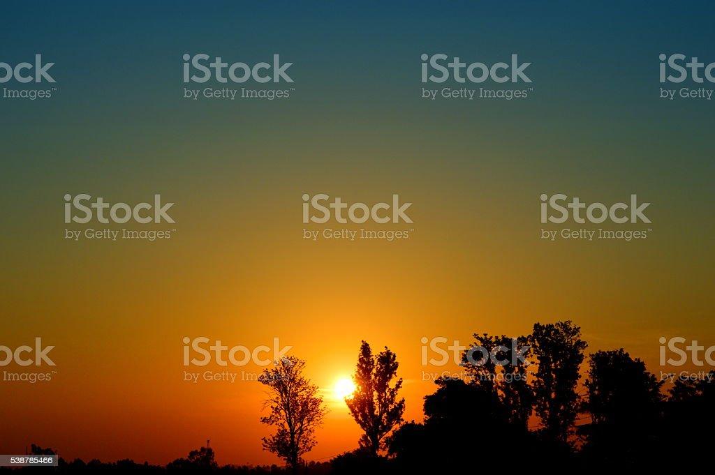 Glory of Sunrise stock photo
