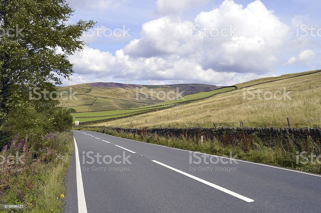 Glossop in Derbyshire, England UK stock photo