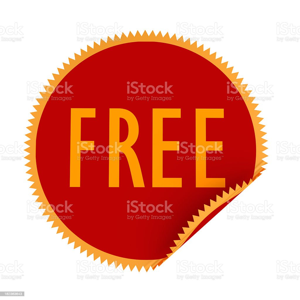 Glossy Stickers royalty-free stock photo