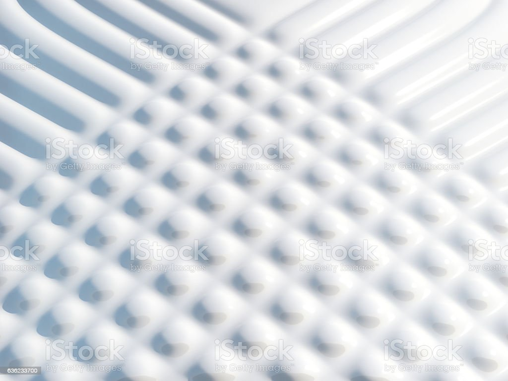 Glossy white abstract background .3d rendering stock photo