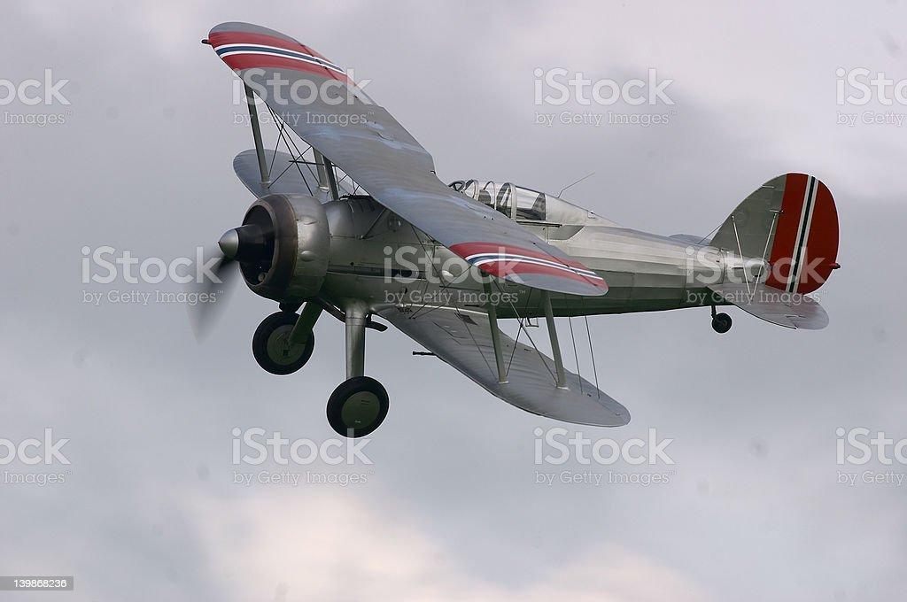 Gloster Gladiator royalty-free stock photo