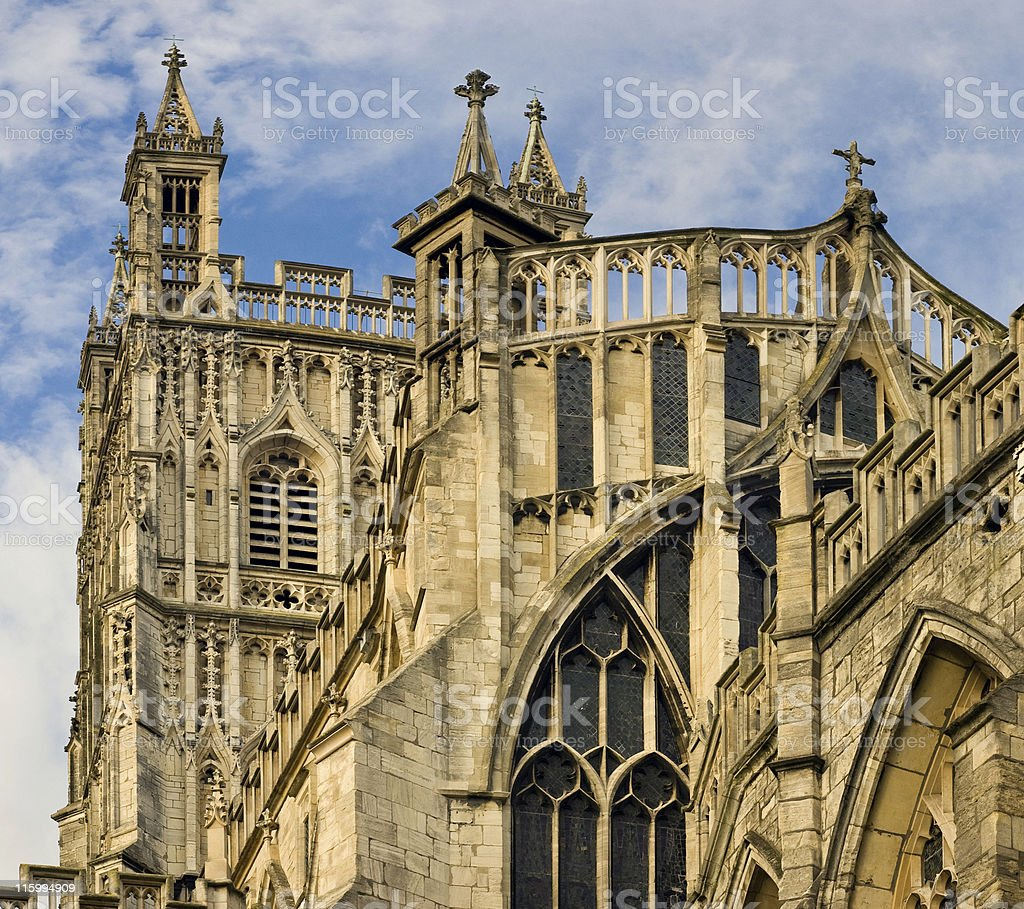 Gloucester Cathedral. royalty-free stock photo
