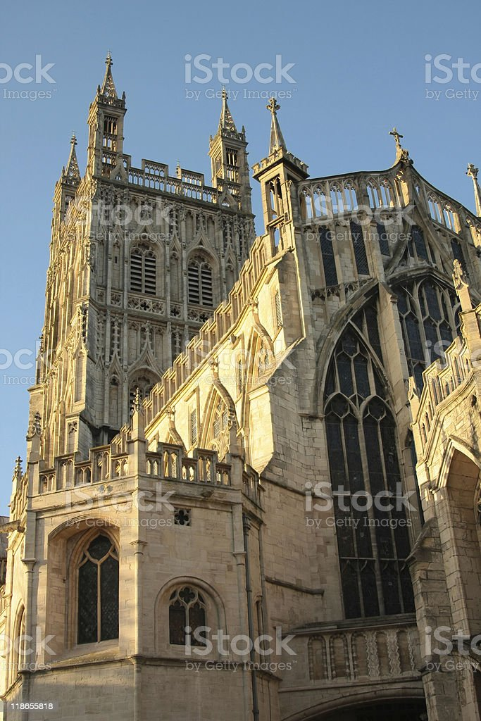 Gloucester Cathedral royalty-free stock photo