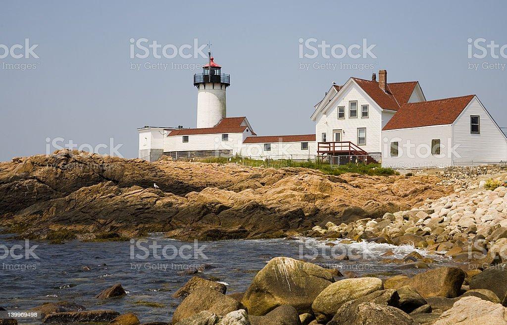 Gloucester Lighthouse royalty-free stock photo