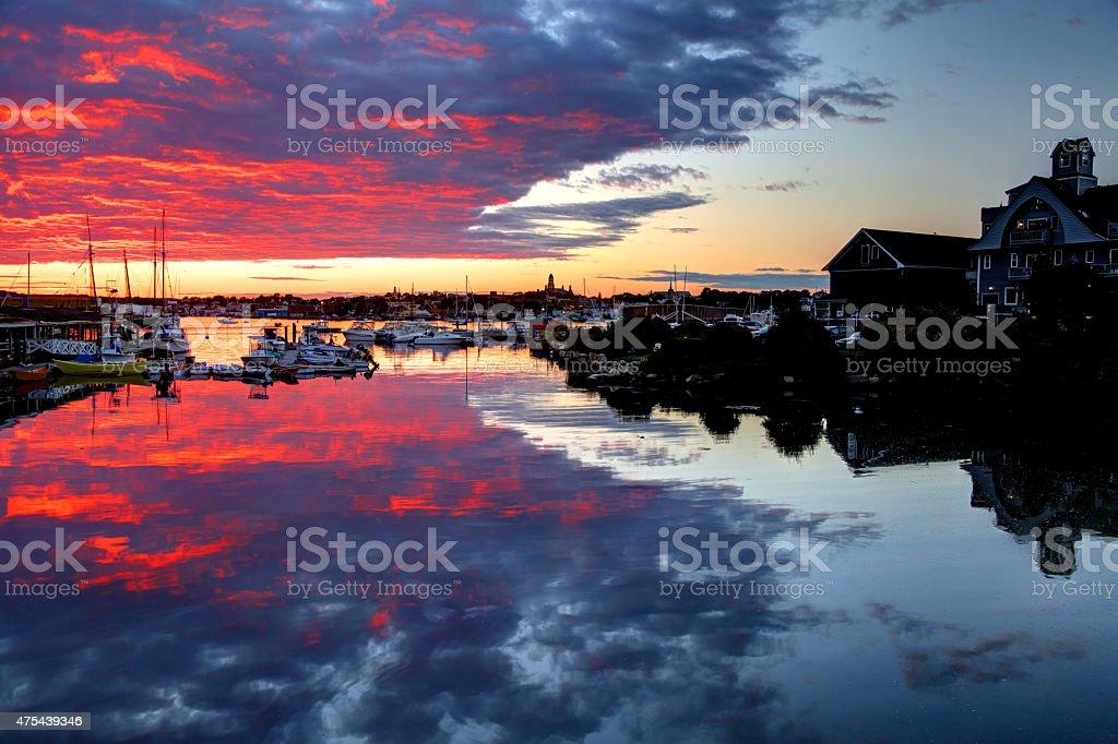 Gloucester Massachusetts stock photo