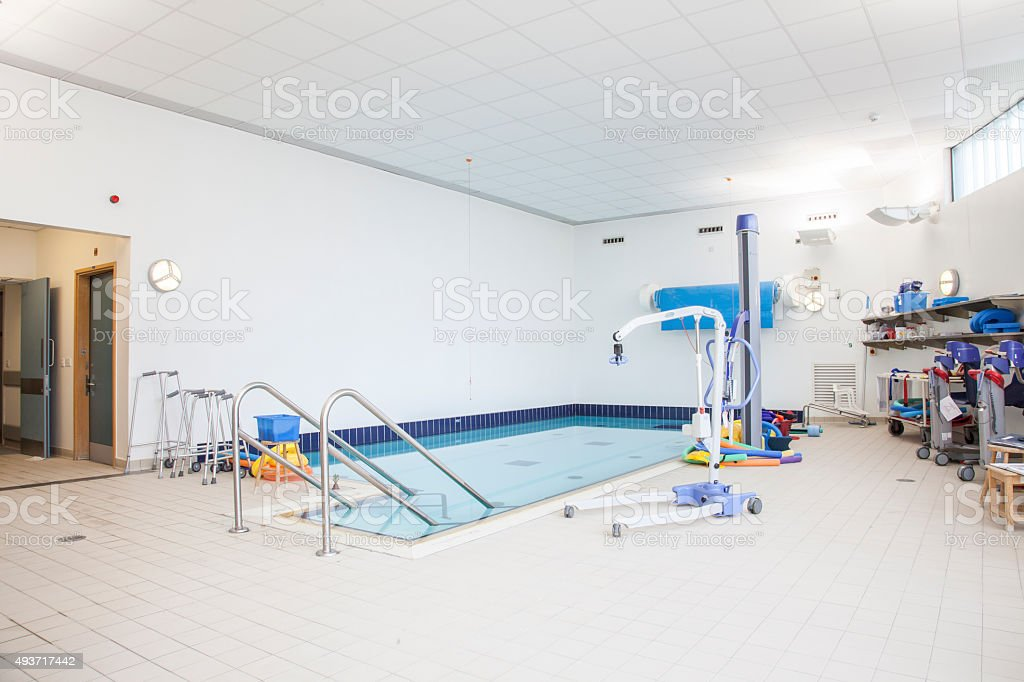 Gloucester Royal Hospital Childrens Physio piscina foto stock royalty-free