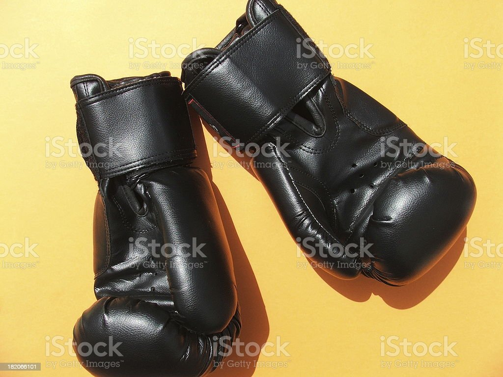 Glove kickboxing stock photo