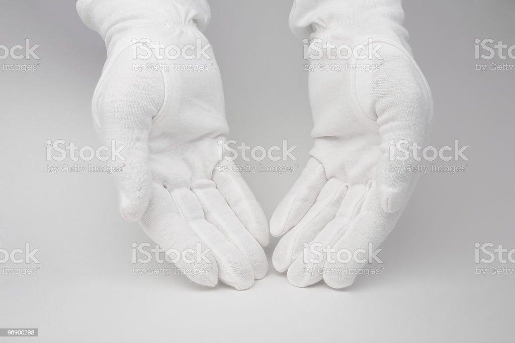 Glove stock photo