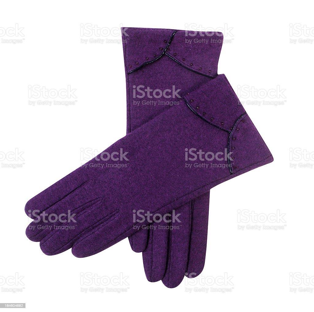 Gloves royalty-free stock photo