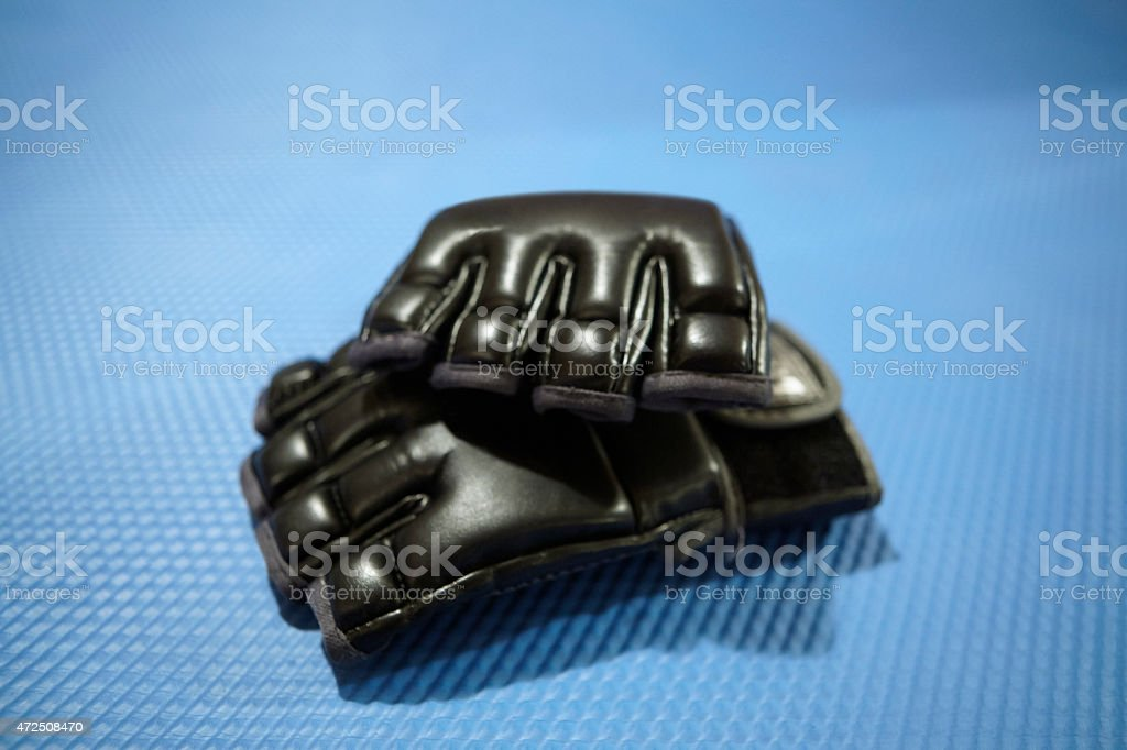 MMA gloves stock photo