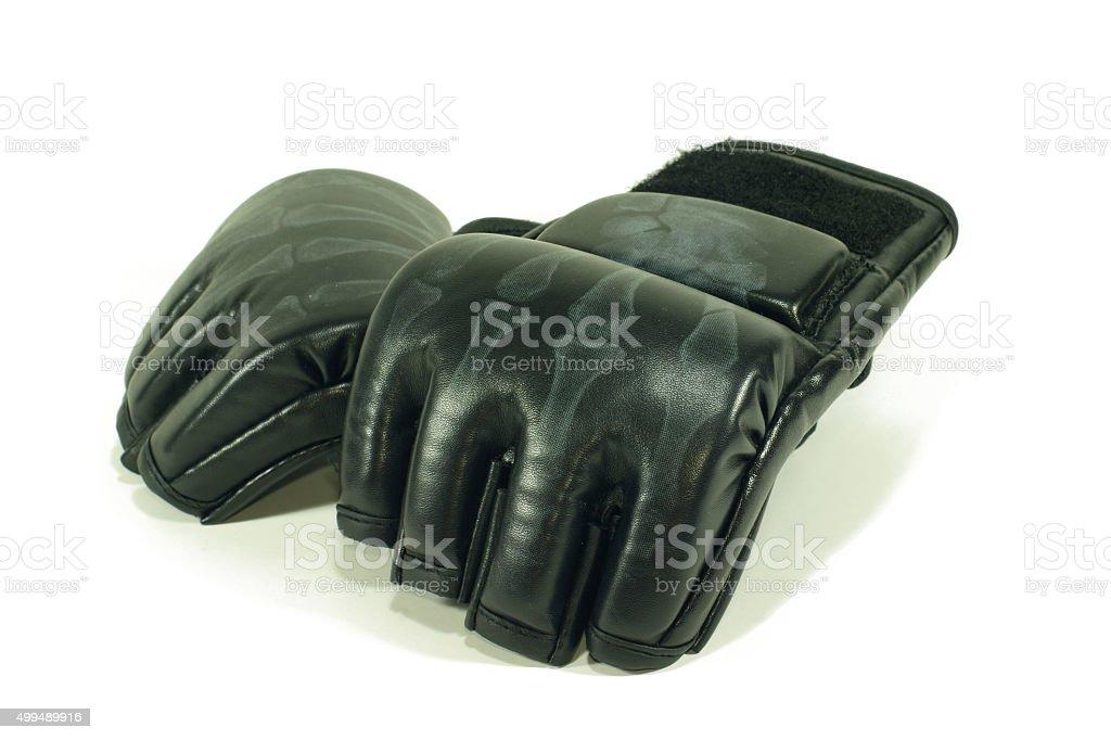 MMA gloves stock photo