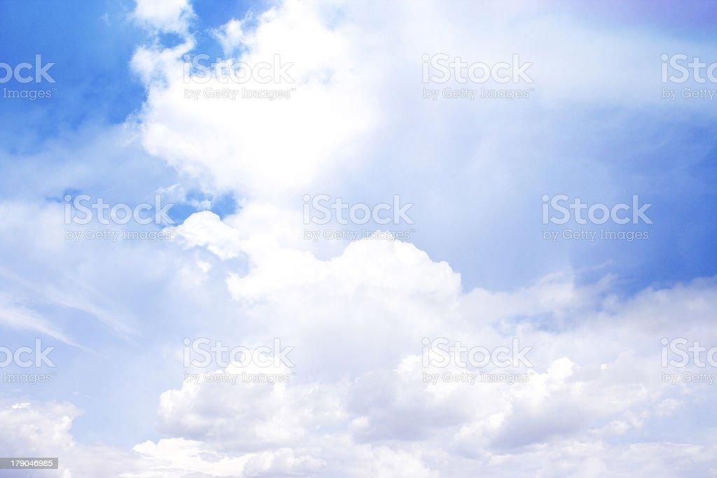 glow cloud stock photo