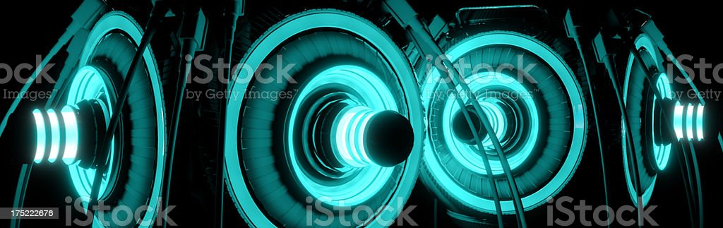 Glow O Matic royalty-free stock photo