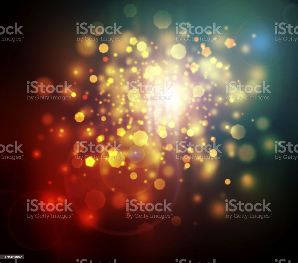 Glowing abstract stock photo