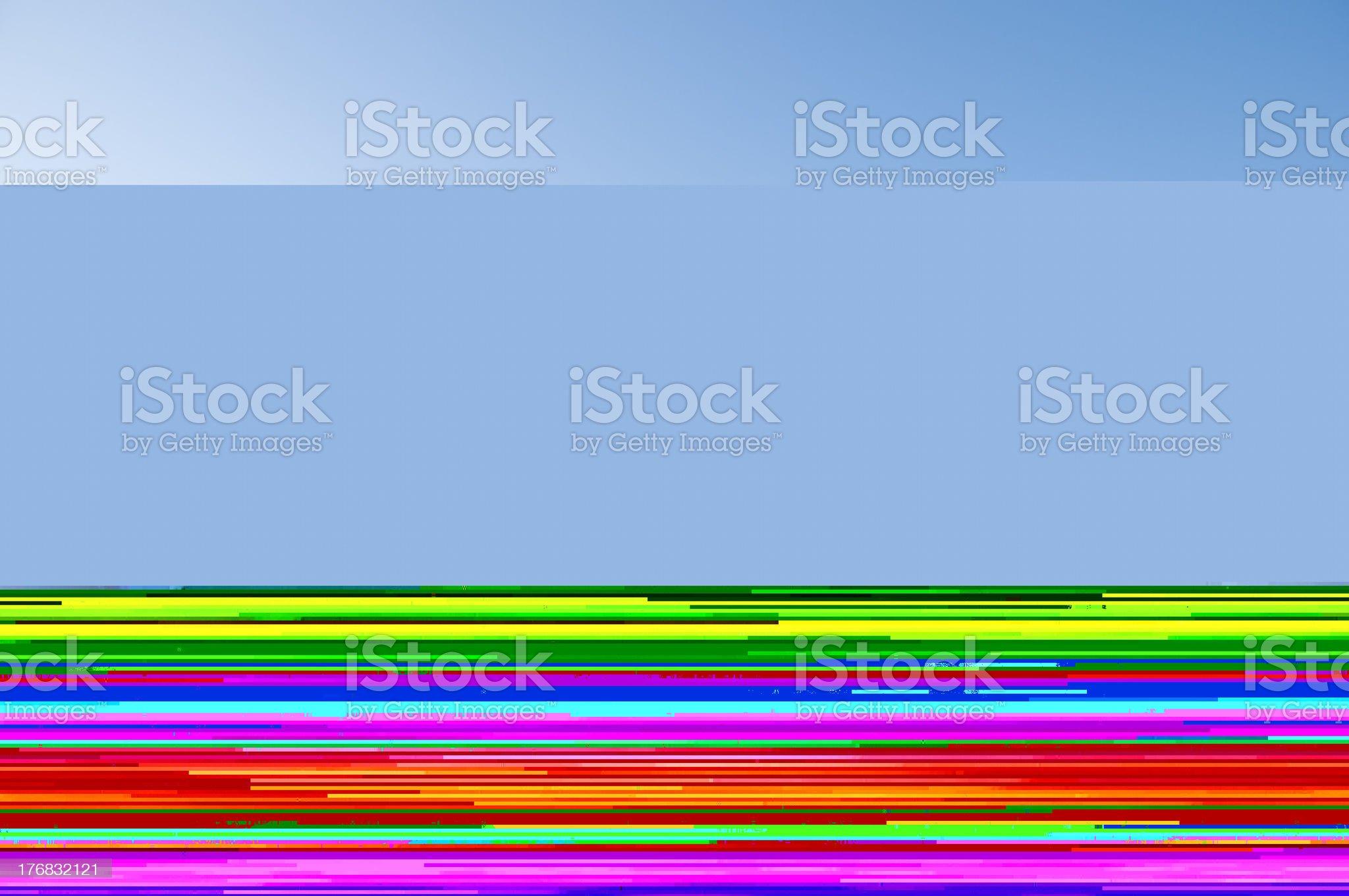 Glowing Alphabet royalty-free stock photo