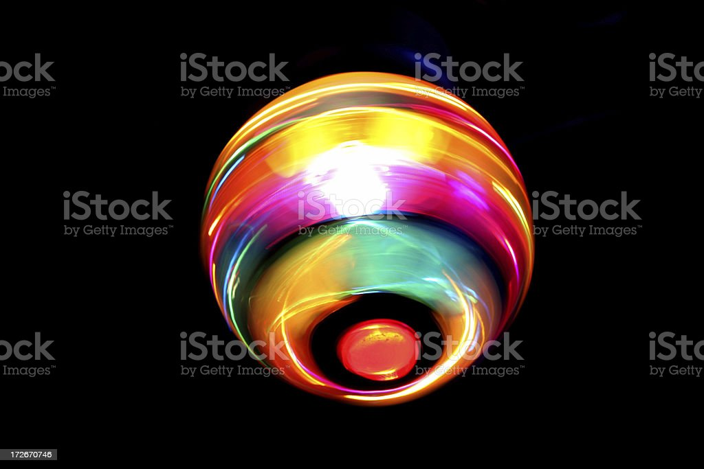 Glowing ball. royalty-free stock photo