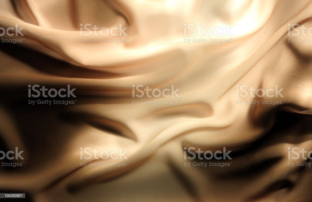 Glowing beige satin royalty-free stock photo