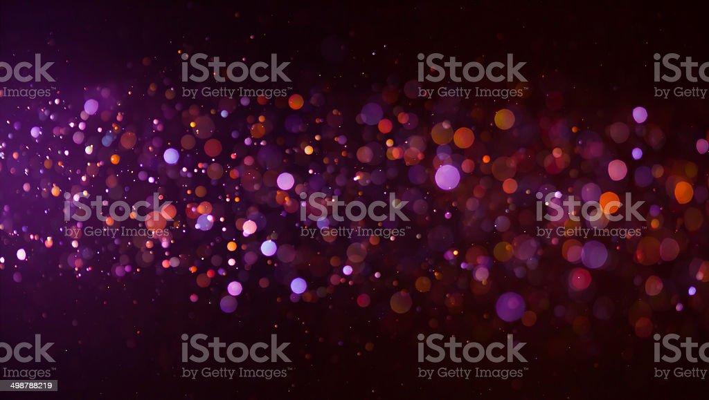 glowing bokeh background stock photo
