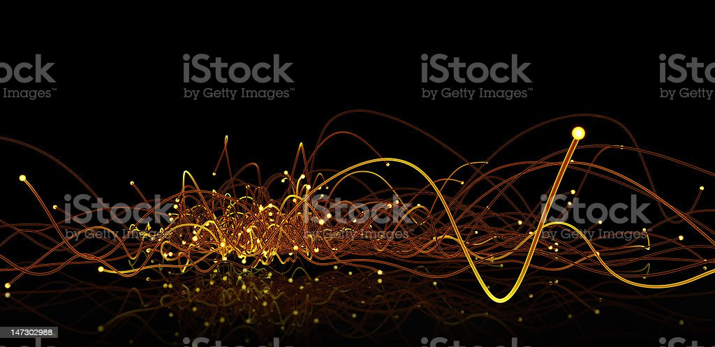 Glowing edges royalty-free stock photo