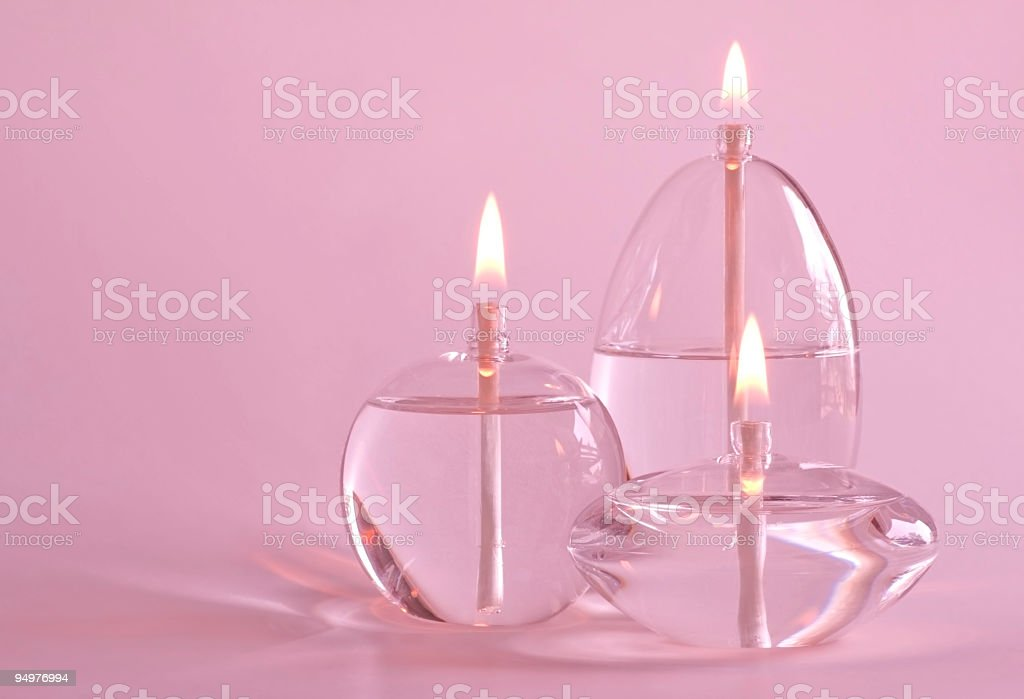 Glowing in the Pink royalty-free stock photo