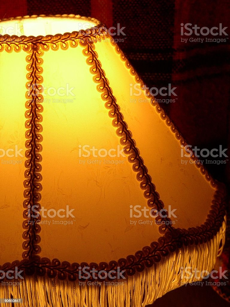 glowing lamp royalty-free stock photo
