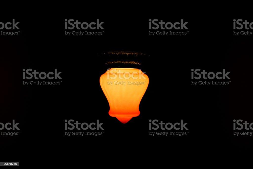 Glowing Lamp royalty-free stock photo