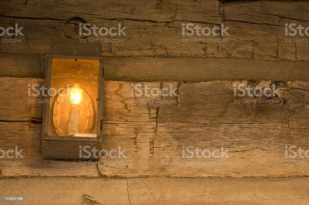 Glowing Lantern royalty-free stock photo
