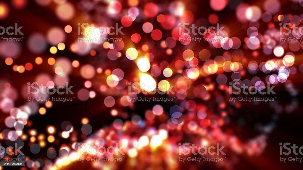 glowing lights background stock photo