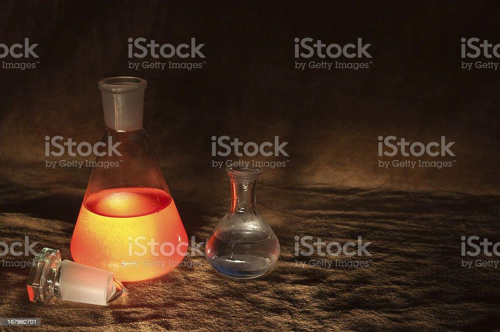 Glowing liquid royalty-free stock photo