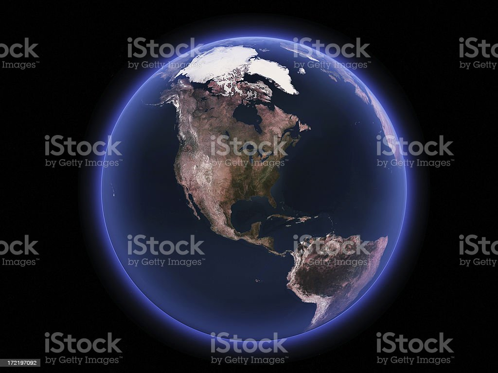 Glowing Marble stock photo