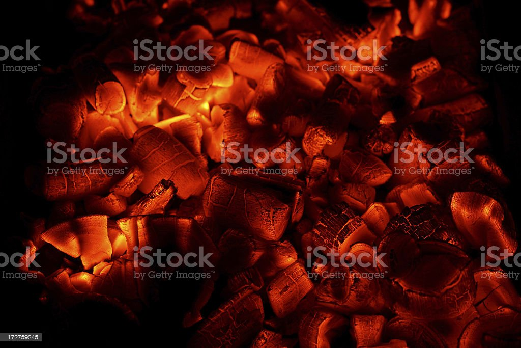 Glowing stock photo