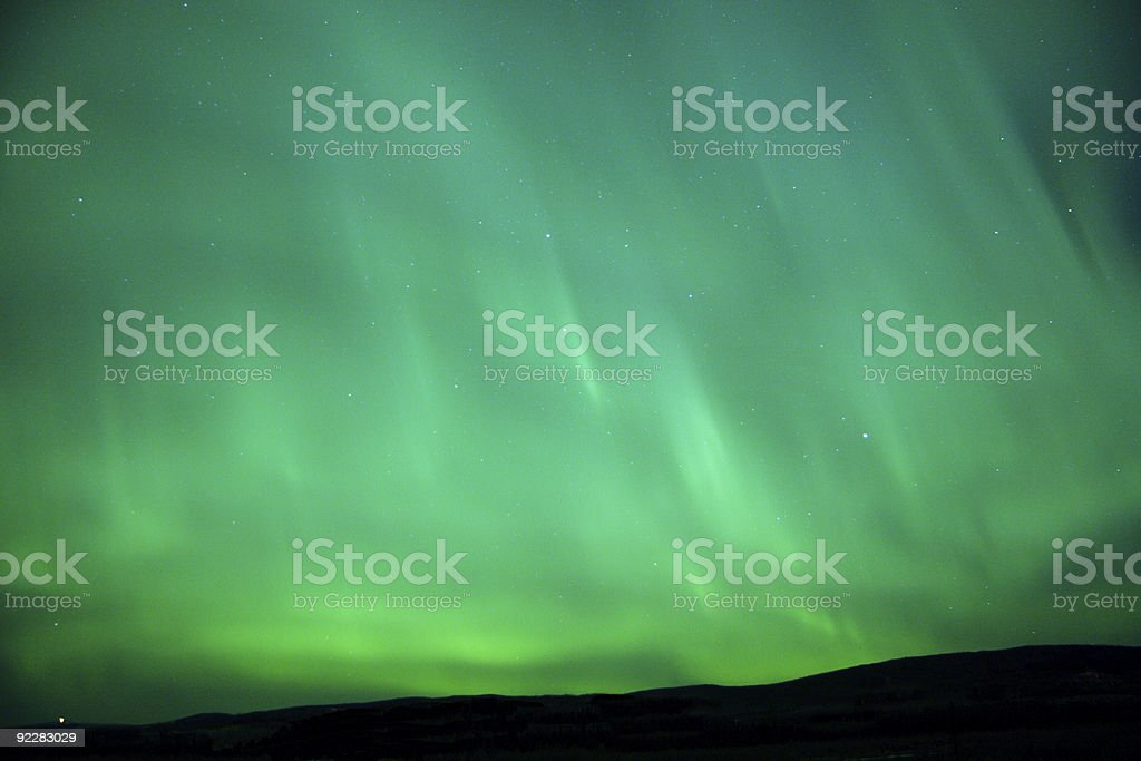 Glowing sky royalty-free stock photo