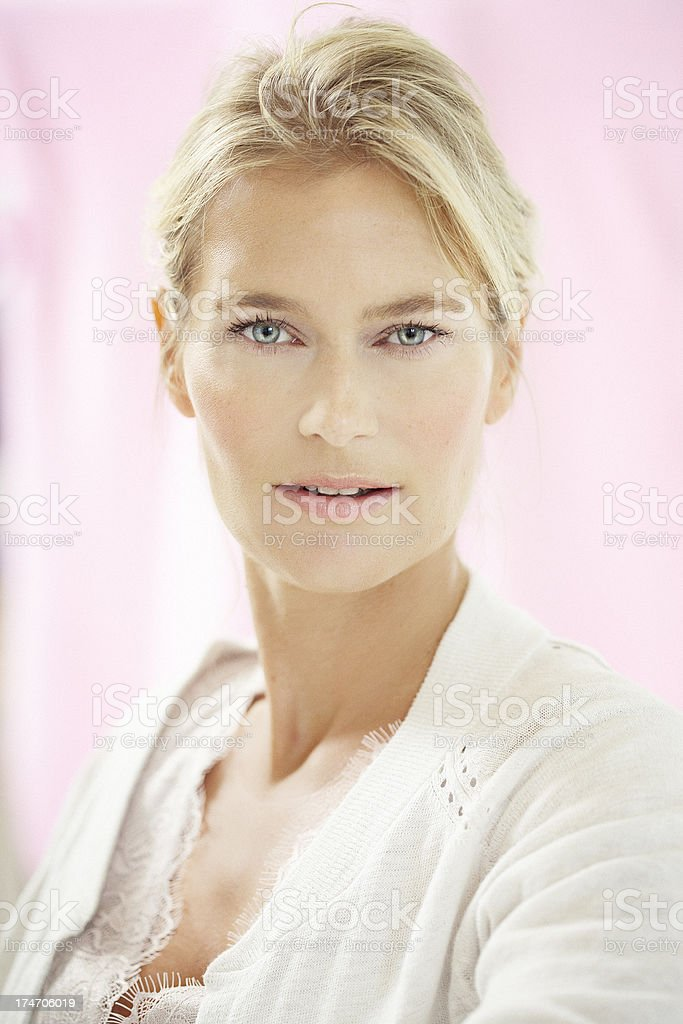 Glowing Woman royalty-free stock photo