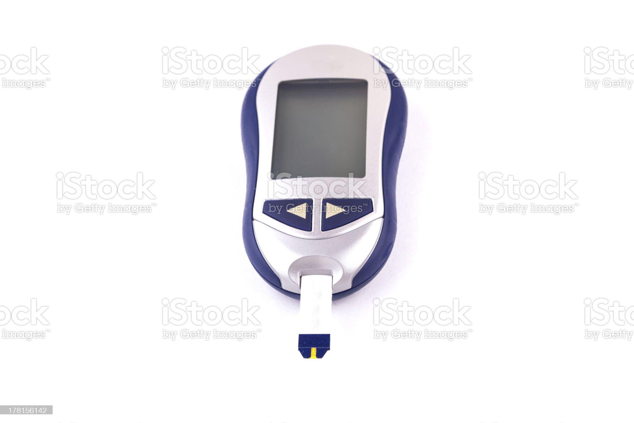 glucose meter royalty-free stock photo
