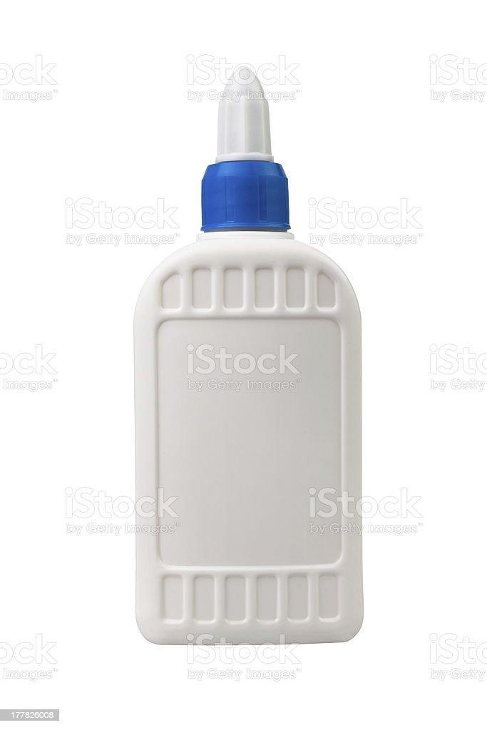 glue bottle one royalty-free stock photo