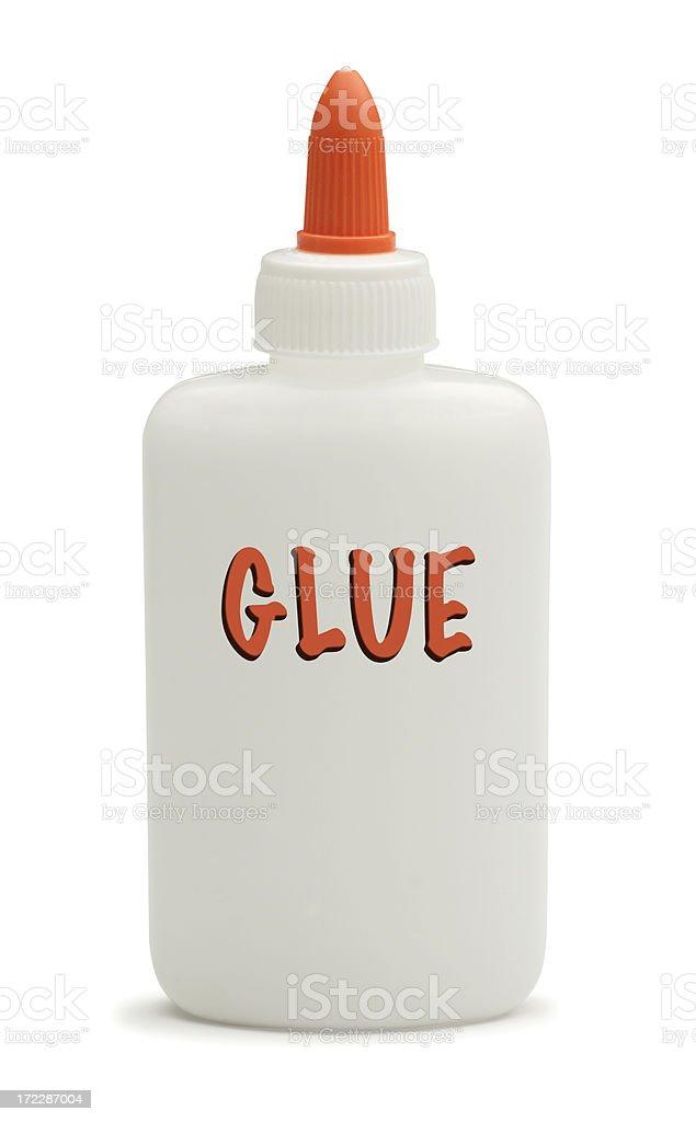 Glue Bottle royalty-free stock photo