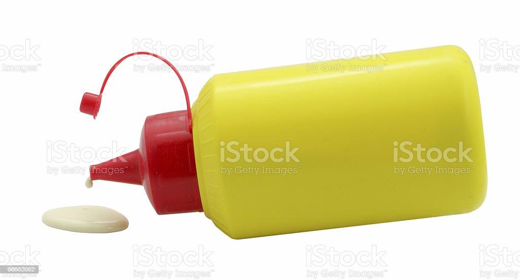 glue drop royalty-free stock photo