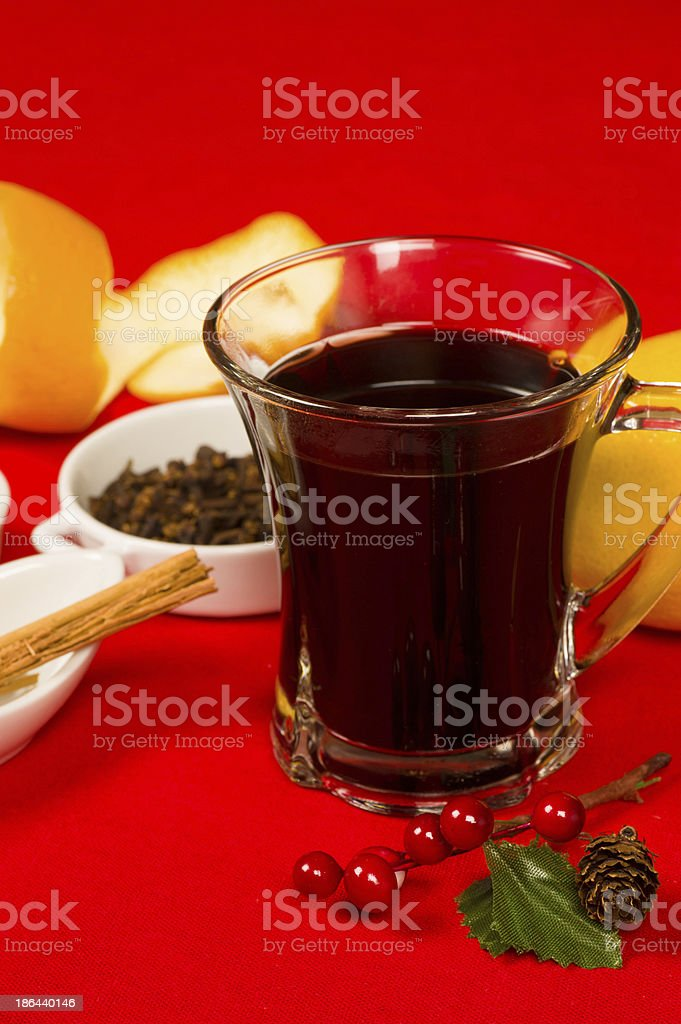 Gluehwein royalty-free stock photo