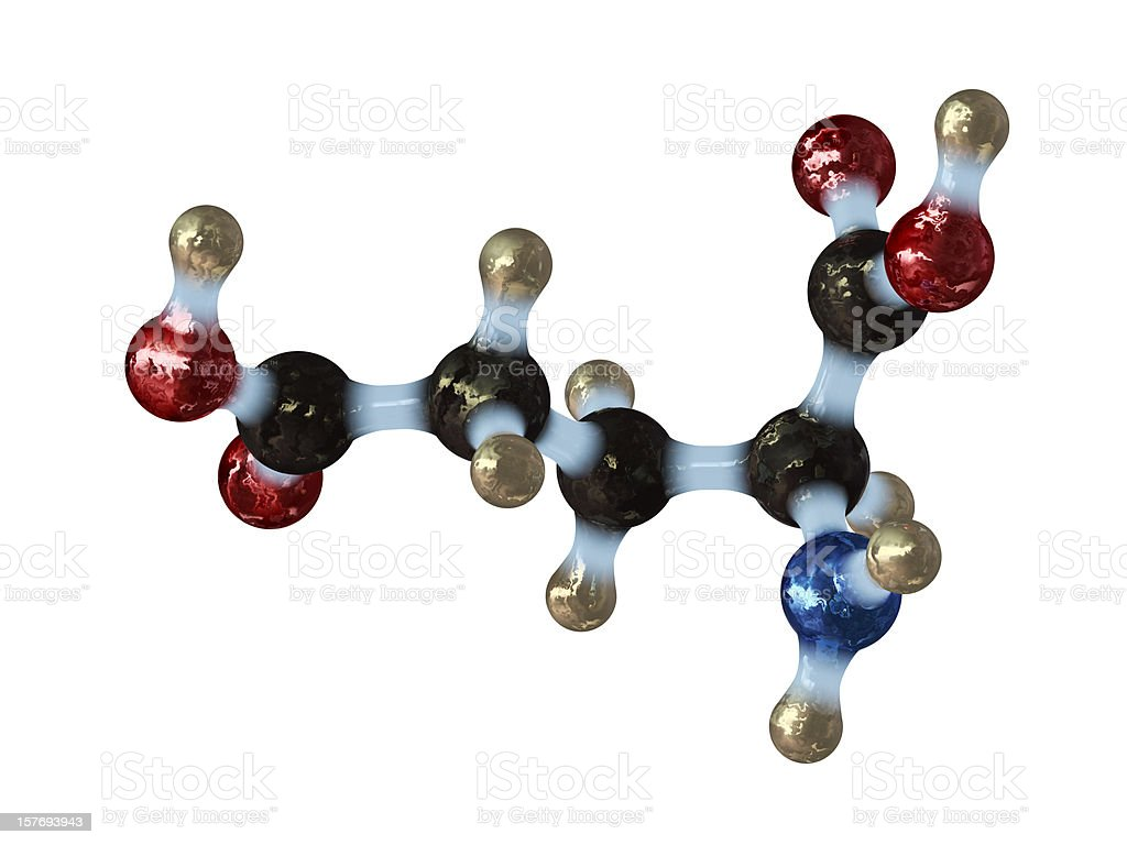 Glutamic Acid stock photo