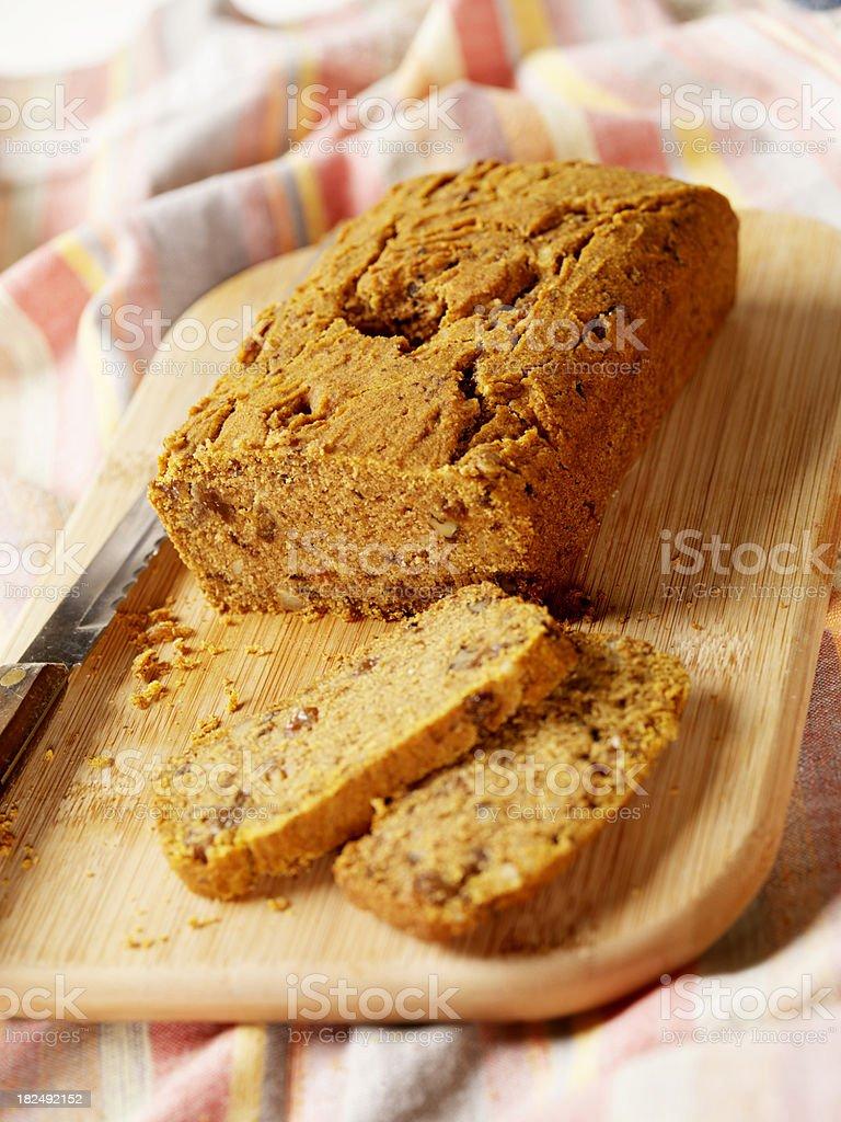 Gluten free Banana Bread stock photo