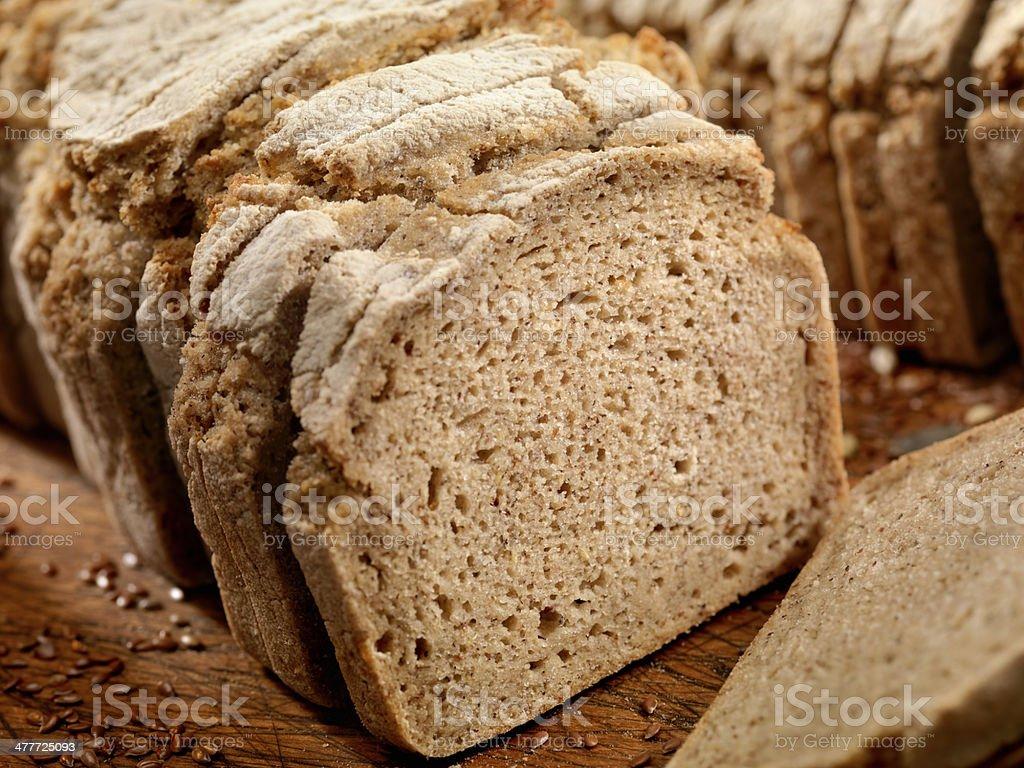 Gluten Free Brown Rice Bread stock photo