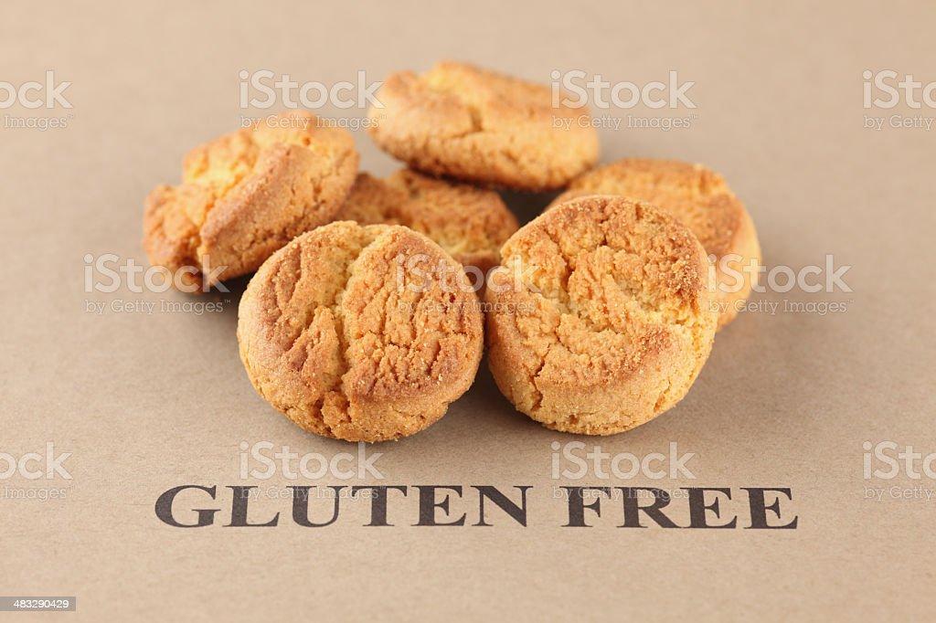 Gluten Free Cookies stock photo