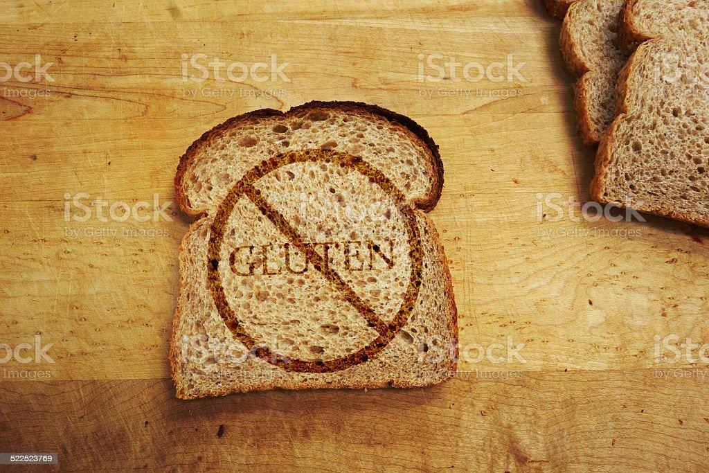 Gluten free diet stock photo