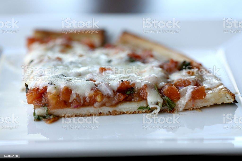 Gluten Free Margherita Pizza stock photo