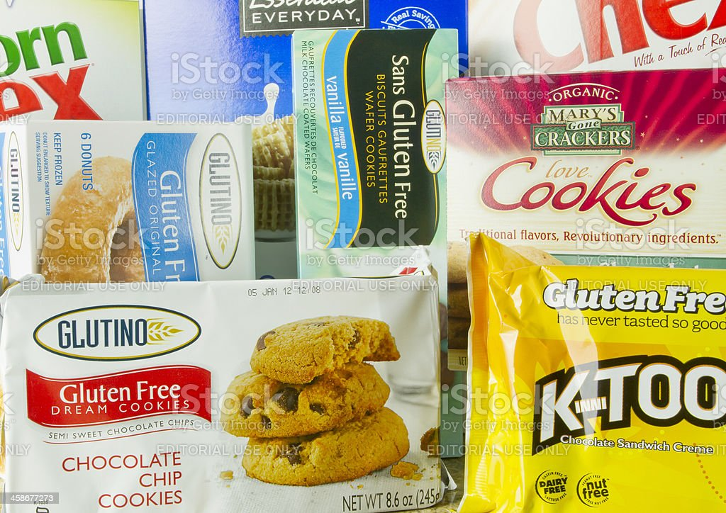 Gluten Free Starch Products stock photo