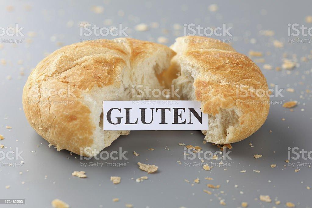 Gluten stock photo