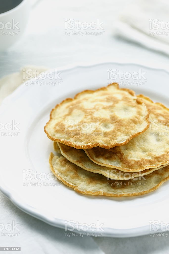 Gluten-Free Crepes royalty-free stock photo